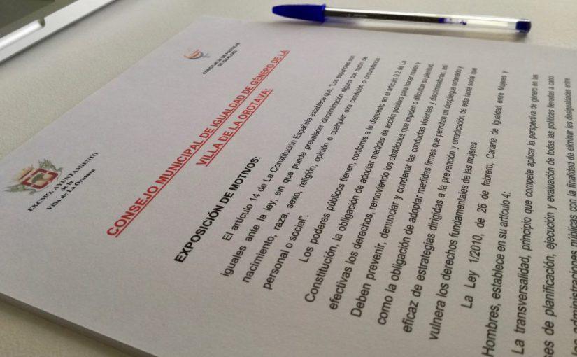 La Orotava tendrá Consejo Municipal de Igualdad y Observatorio de Violencia de Género a iniciativa de USP