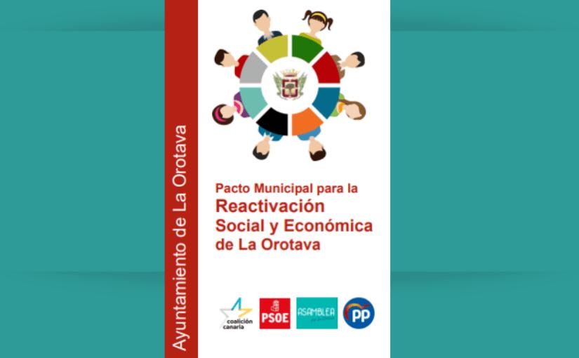 Pacto Municipal para la Reactivación Social y Económica de La Orotava