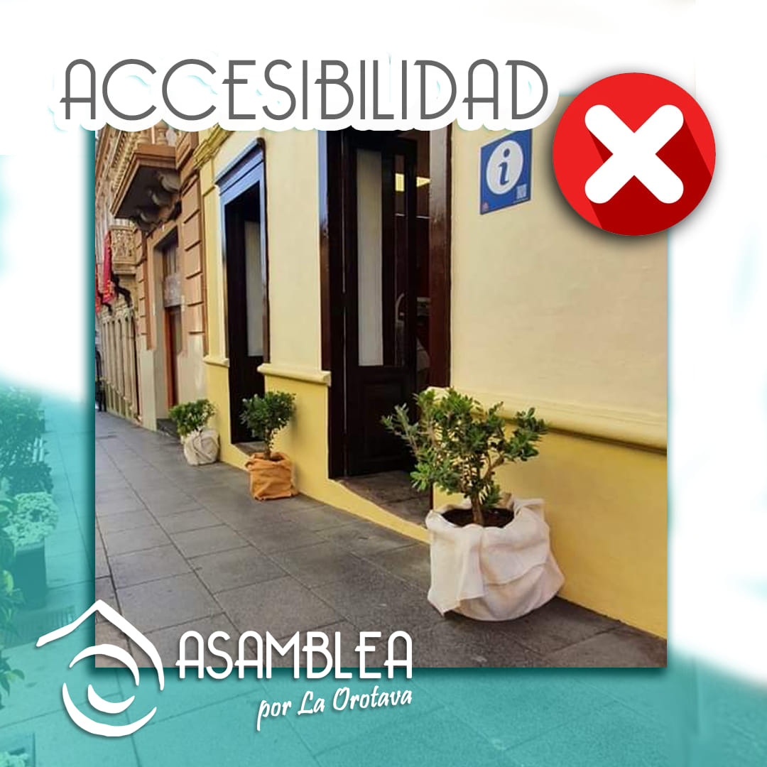El Ayuntamiento de La Orotava reforma un inmueble dentro del Conjunto Histórico para hacerlo accesible.